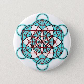 MetatronTGlow Pinback Button