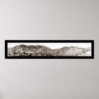 Metcalf AZ Mines Photo 1909 Poster