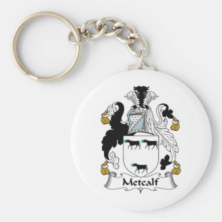 Metcalf Family Crest Keychain