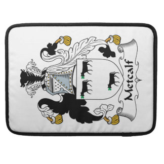 Metcalf Family Crest Sleeve For MacBooks