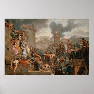Metellus Raising the Siege Poster