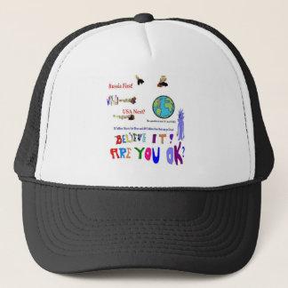 Meteor Asteroid Trucker Hat