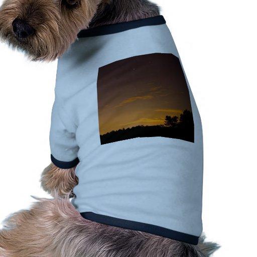 Meteor at Sunset Pet Shirt
