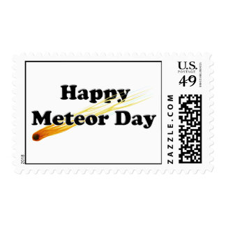 Meteor Day Postage Stamp