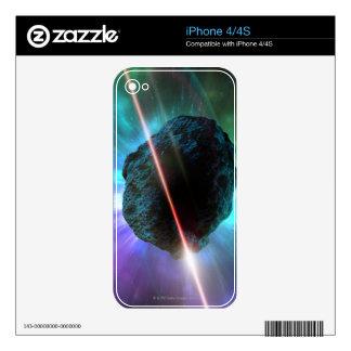 Meteor in Space iPhone 4S Skins