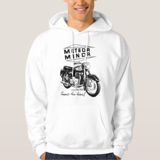 Meteor Minor UK Vintage Motorcycle Ad Hoodie