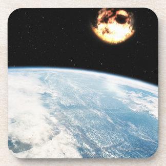 Meteor Nearing Earth Coaster