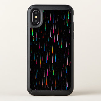 meteor rain speck iPhone x case