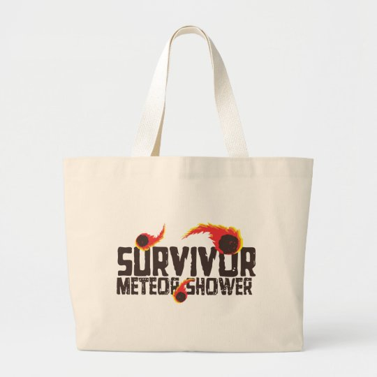 Meteor Shower survivor Large Tote Bag