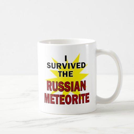 Meteor Survivor Classic White Coffee Mug