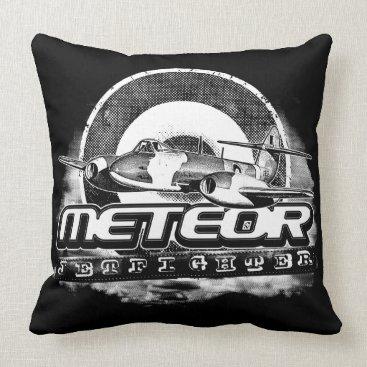 Meteor Throw Pillow Throw Pillow