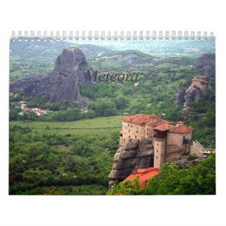 Meteora - Greece Calendar