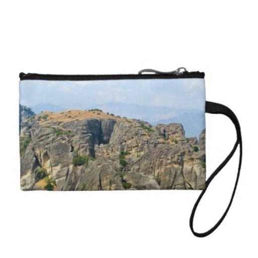 Meteora rocks change purse