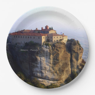 Meteora – Thessaly Paper Plate