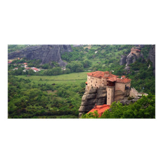 Meteora – Thessaly Photo Greeting Card