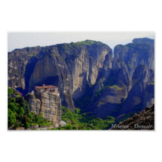 Meteora – Thessaly Poster