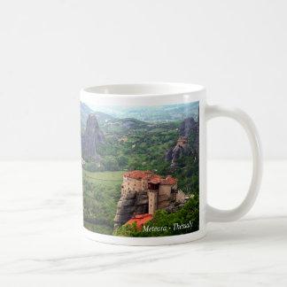 Meteora - Thessaly Taza Básica Blanca