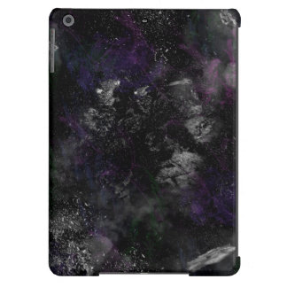 Meteorite emplosion in outerspace cover for iPad air