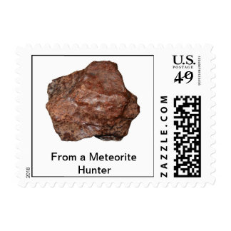 Meteorite Hunter Stamp