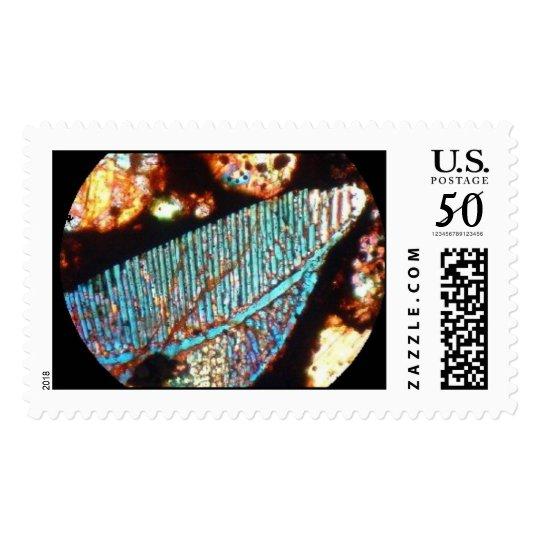 Meteorite Kainsaz carbonaceous chondrite t/section Postage