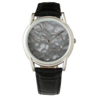 Meteorite,_Mens_Classic_Black_Leather_Watch. Wrist Watch
