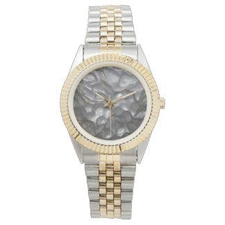Meteorite,_Mens_Two_Toned_Bracelet_Watch. Watch
