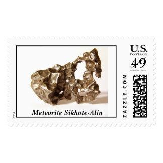 Meteorite Sikhote-Alin Stamp