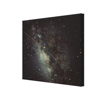 Meteorite Streak Canvas Print