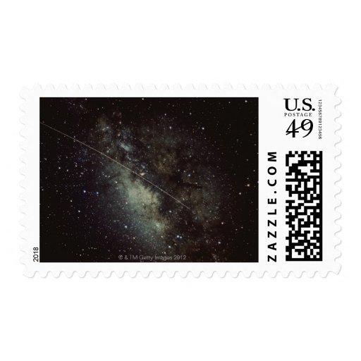 Meteorite Streak Postage Stamp