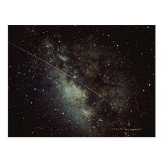 Meteorite Streak Postcard