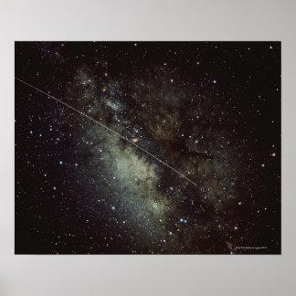Meteorite Streak Poster