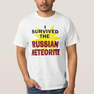 Meteorite Survivor Tee Shirt