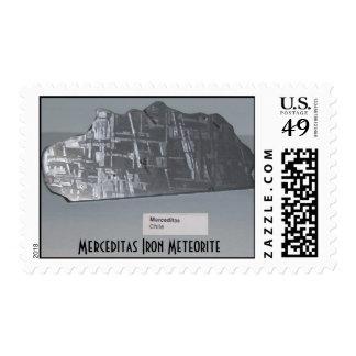 Meteorito del hierro de Merceditas $.41 sellos del
