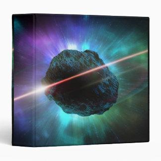 """Meteorito en espacio carpeta 1 1/2"""""""
