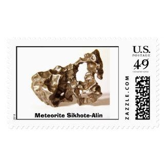 Meteorito Sikhote-Alin Estampillas