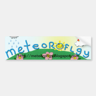Meteoroflgy - pegatina para el parachoques pegatina para auto