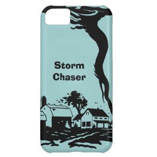 Meteorología del tiempo del tornado del tornado de carcasa iPhone 5C