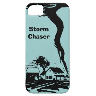 Meteorología del tiempo del tornado del tornado iPhone 5 carcasas
