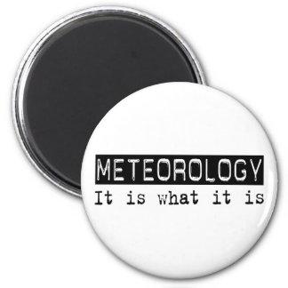 Meteorología es imán redondo 5 cm