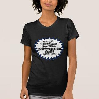 Meteorologist...Because I Said So T-shirt