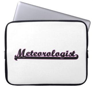 Meteorologist Classic Job Design Laptop Sleeve