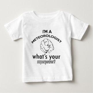 meteorologist design baby T-Shirt