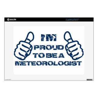 Meteorologist Design Laptop Skins