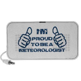 Meteorologist Design Portable Speaker