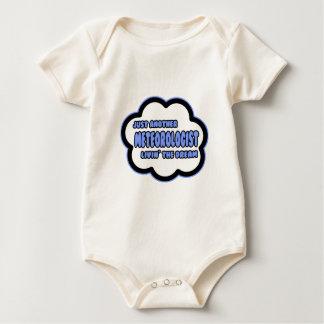 Meteorologist .. Livin' The Dream Baby Bodysuit