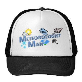 Meteorologist Man Trucker Hat