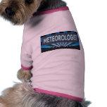 Meteorologist Marquee Doggie T-shirt