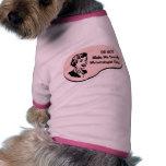 Meteorologist Voice Dog T Shirt