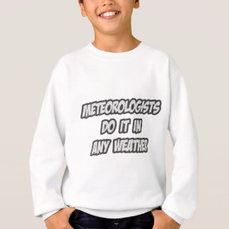 Meteorologists Do It In Any Weather Sweatshirt