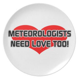 Meteorologists Need Love Too Plates